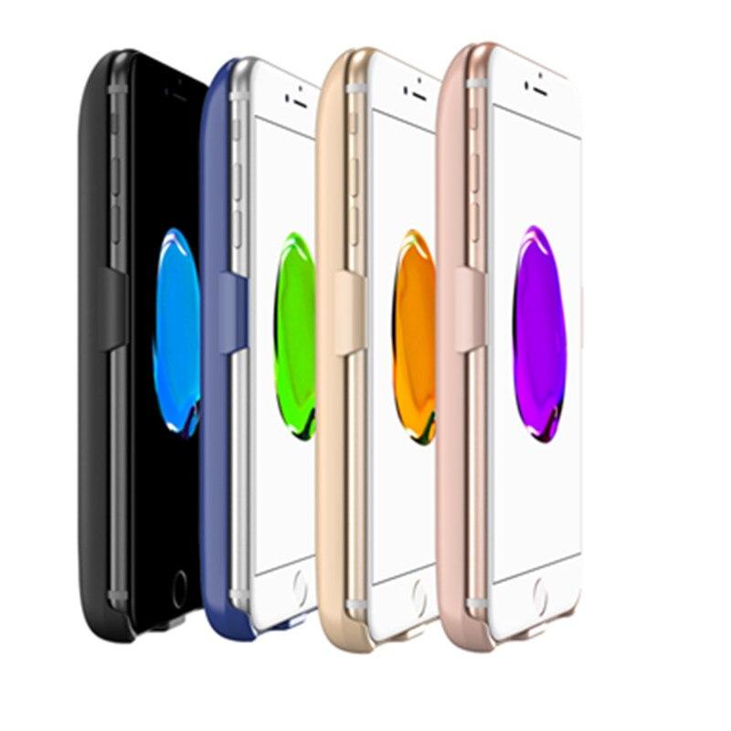 bilder für Für iphone 6 plus 6 s plus 7 plus batterie-kasten, GagaKing 7300 mAh Tragbare Wiederaufladbare 3in1 Externer Akku Fall