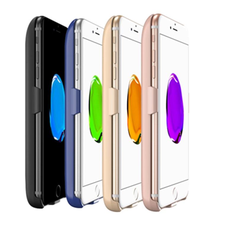 imágenes para Para el iphone 6 plus 6 s más 7 más la caja de batería, 3in1 GagaKing 7300 mAh Recargable Portátil de Copia de seguridad Externa Paquete por Caja de batería