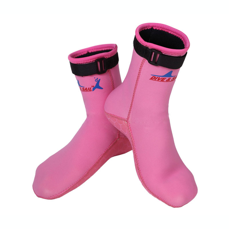Black and Pink 2017 Size 33 to 45 Socksremium Neoprene 2.5mm Swim Socks Water Sock Wests ...