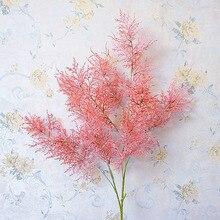 Long stem Dianthus branch fake plant artificial flowers grass home garden wedding decoration plante artificielle