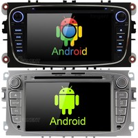 android 9.0 Car DVD Player GPS RDS Radio For Ford Mondeo Focus C MAX Galaxy Tourneo Transit S max Kuga 2 Din central multimidia