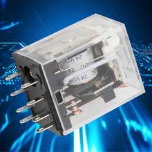 HH52P 24VDC/220VAC 5A 8 Pins Tussenliggende Relais Coil DPDT Elektromagnetische Power Relay(China)