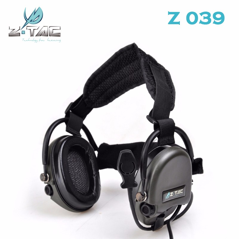 Ouvido Neckband Headset Ztac Fone de Ouvido