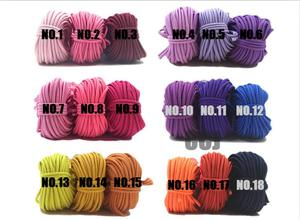 Image 1 - 100 yards 2mm Round Elastic Cord Nylon Coated,Stretch Cord Beading String,Fit For Bracelet & Necklace,DIY Accessory