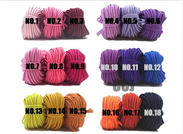 100 yards 2mm Round Elastic Cord Nylon Coated,Stretch Cord Beading String,Fit For Bracelet & Necklace,DIY Accessory