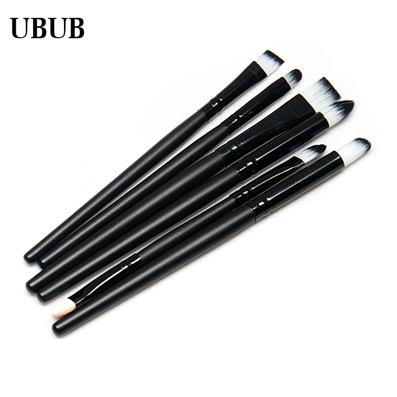 Best Quality Hot Sale 6 Pcs Beauty Makeup Brushes Set Professional Eyeshadow Blusher Brushes Multifunctional Make Up Tool best price mgehr1212 2 slot cutter external grooving tool holder turning tool no insert hot sale brand new