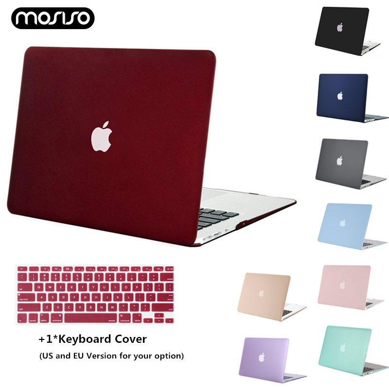 MOSISO Laptop Case Protect Cover For Macbook Air Retina Pro 13 15 With Touch Bar A1706 A1707 A1990 AIR 13 A1932 2016 2017 2018