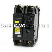 3000A Overload Protection 1P+N Moulded Case Circuit Breaker DZ12LE 63 40A