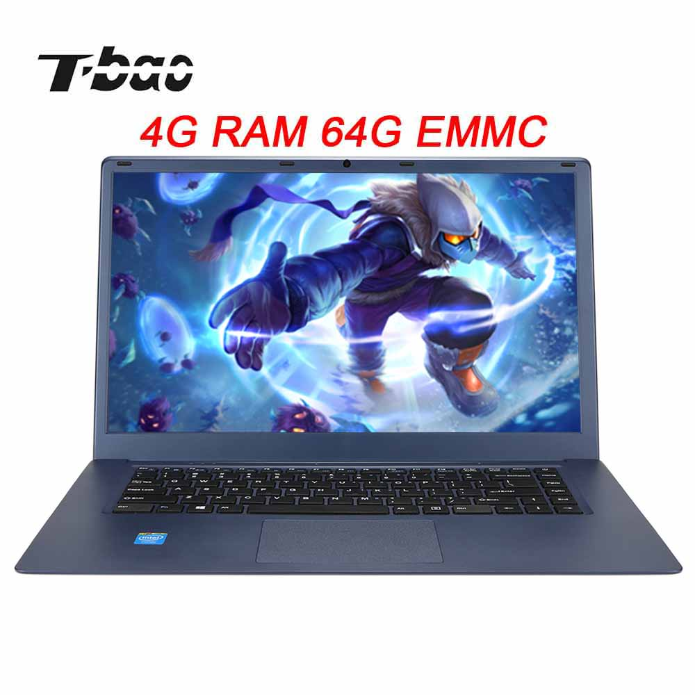 TBOOK R8 15.6 inch Gaming Laptop Business Notebook PC 10000mAh Battery 1920P 4GB 64GB for Intel Z8350 1.94GHz CPU image