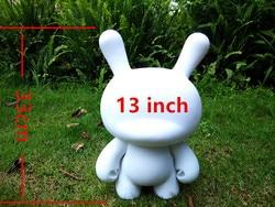 13 Fashion Zacht Plastic Kidrobot Grote Dunny Munny Speelgoed Witte Poppen Schets Van Characters Diy Vinyl Art Figuur Speelgoed