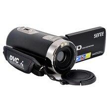 1080 P Цифровая видеокамера fotografica видеокамеры широкоугольный Макро Рыбий съемки 24 м Сенсорный пульт DV DVR Filmadora HDMI 301 s