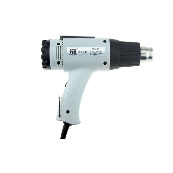 HP-8820 2000W 220V Hot Air Gun Heat Industrial hot air duct  with 2 Nozzles Electric Temperature Adjustable Power Tools heat gun 2000w 220v temperature adjustable temperature industrial electric hot air gun
