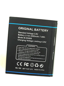 Westrock 2000mAh DG800 battery for DOOGEE Valencia DG800 cellphone wsw