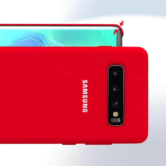 Samsung S10 Case Original High Quality Soft Silicone Protector Case Samsung Galaxy S10 Plus Case Galaxy S10 S10e Silicone Case