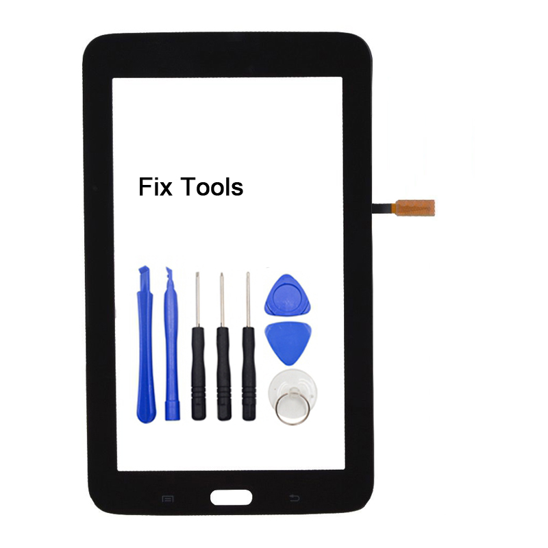 LOVAIN 1Pcs For Samsung Galaxy Tab 3 7.0 T110 T111 T113 T114 T116 Touch Screen Digitizer LCD Panel Front Glass+Adhesive+Tools стоимость
