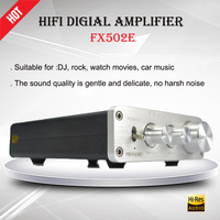 FX Audio FX502E Amplifiers TDA7498L Hifi Digital Amplificador 68W*2 Portable Power Audio Amplifier Portable Stereo Sound AMP