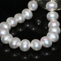 High Quality Natural White Shell Pearl Beads Oval 13 15mm Women Fine Jewelry Making New Fashion