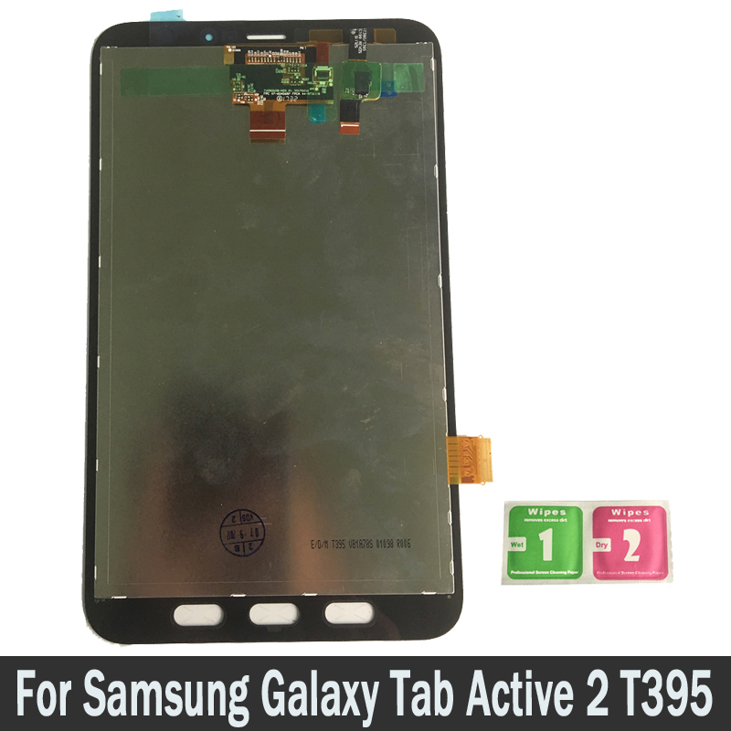For Samsung Galaxy Tab Active 2 T395 SM-T395 100% LCD Display Touch Screen Digitizer Sensors Assembly Panel Replacement PartsFor Samsung Galaxy Tab Active 2 T395 SM-T395 100% LCD Display Touch Screen Digitizer Sensors Assembly Panel Replacement Parts