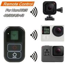 цена на Waterproof WIFI Remote Control For Gopro Hero Max 8/7/6 Black/Silver/white Hero 5 4 3+ 3 / 4 Session 5 Session Camera fusion