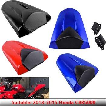 Motocicleta 13 14 CBR500R asiento tipo sillín trasero carenado de parabrisas de plástico ABS para 2013-2015 Honda CBR 500 R CBR 500R 2014