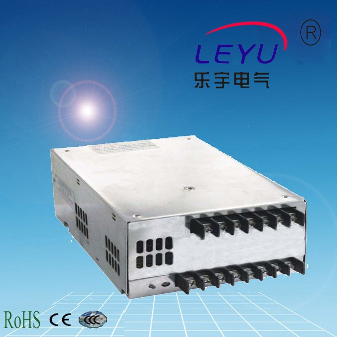 LEYU PFC Function SMPS Switching Power Supply 600W SP-600 series 12V 24V 48V industrial machinery switching mode power supply 36v 16 6a 600w sp 600 36 with ce certified