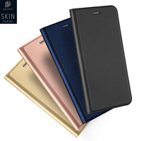 Luxury Genuine Leather Wallet Mobile Phone Cover For Sony Xperia M2 M4 M5 Aqua Dual For