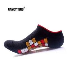 цены на NANCY TINO Mens Ankle Socks Outdoor Sports Socks Camping Hiking Running Cycling Socks Breathable Comfort Short Cotton Boat Socks в интернет-магазинах