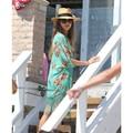 Продвижение женщины-бич платье бикини купальники мини Chiffon летний пляж саронги для женщин девушки дешевой продажи купальники