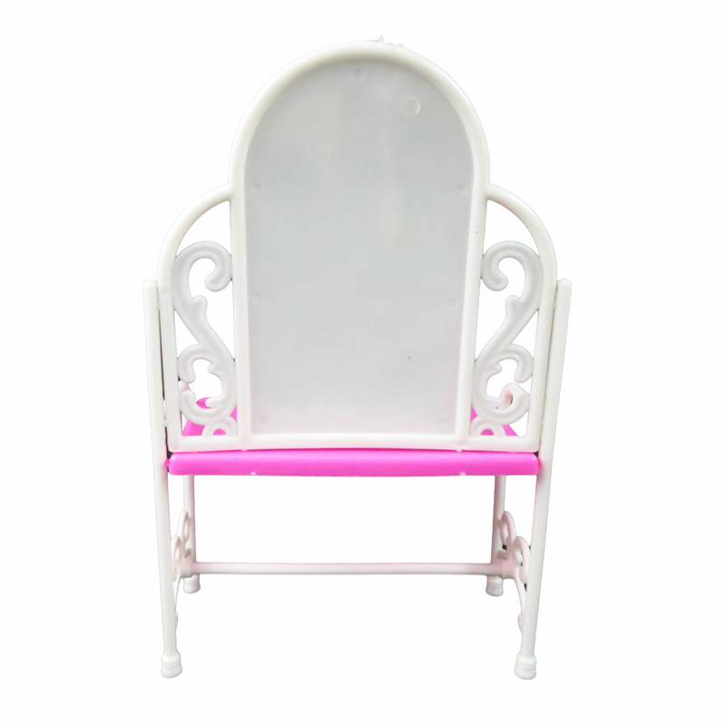 Barbie Poupées Main Commode Meubles Coiffeuse + chaise Poupée ...