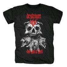 Bloodhoof destroyer666 brutal death metal thrash metall schwarz baumwolle t shirt Asiatischen Größe