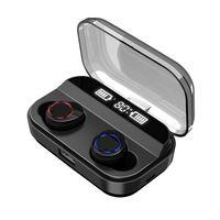 Bluetooth Stereo Earphone Wireless Earphones X11 TWS Waterproof Earphones Smart 3000mAh Power Bank Phone Holder In ear Headset
