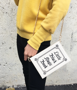 Image 5 - ENJOININ Fashion Magic Book Design Pu Purse Daily Clutch Bag Ladies Shoulder Bag Handbag Womens Crossbody Mini Messenger Bag