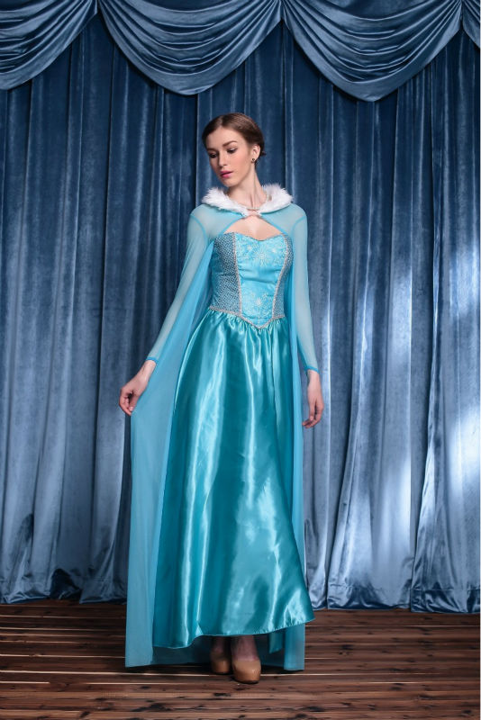 Adult Princess Dress Cosplay Halloween Costumes For Women Adult Snow Queen Costume Cosplay Party Formal Dress Blue on Aliexpress.com | Alibaba Group  sc 1 st  AliExpress.com & Adult Princess Dress Cosplay Halloween Costumes For Women Adult Snow ...