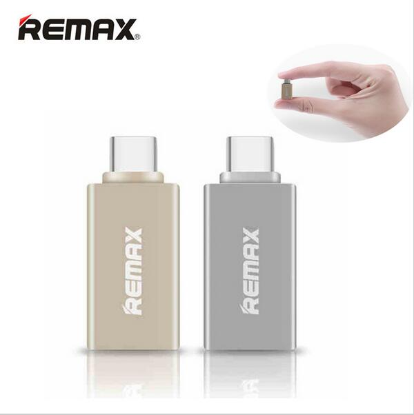 REMAX OTG TYPE-C to USB Adapter Mini Double-Sided Connector Fast Charging for U-Disk to Mobile Phone Type C To USB 2.0/ 3.0 /3.1
