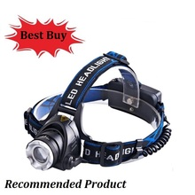 Waterproof LED Headlight Led Headlamp XM-L T6 Head Lamp Torch Lantern 18650 rechargeable battery flashlight head torch Lights