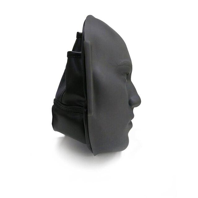 Rosto de Borracha realista simula a cabeça humana para treinamento