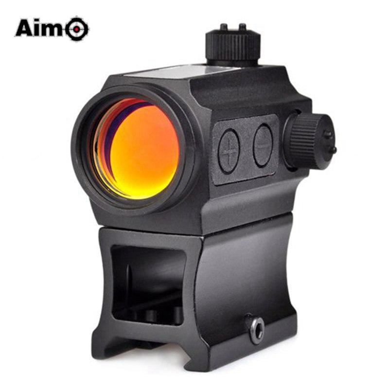 ФОТО Aim-O Red Dot Gun Scope Optic Sight Holosun Aiming Device QD High Rail Riser Mount Kill Flash Filter combo AO5069