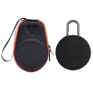 Image 3 - Tragbare EVA Zipper Harte Fall Lagerung Tasche Box Für JBL Clip 2 3 Bluetooth Lautsprecher CE0822 Drop verschiffen