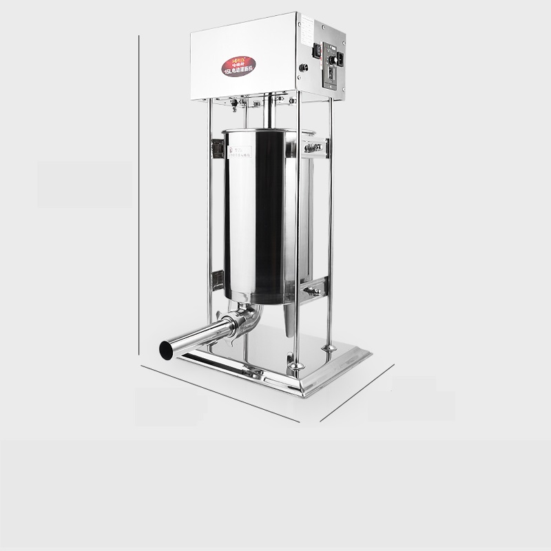 220V 3L/5L/7L/10L/15L Multi Using Electric Sausage Maker/Manual Sausage Maker Stainless Steel Vertical Sausage Machine EU/AU/UK 10l stainless steel commercial manual spanish churro maker doughnut machine