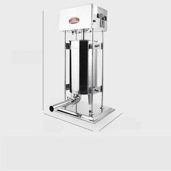 220V 3L/5L/7L/10L/15L Multi Using Electric Sausage Maker/Manual Sausage Maker Stainless Steel Vertical Sausage Machine EU/AU/UK
