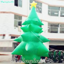 3 m 10 dekoracyjne boże narodzenie nadmuchiwane drzewo dmuchana choinka na boże narodzenie tanie tanio CS04 Inflatable Christmas Tree Decoration 3m 4m(H) Tkanina Oxford Dostępne