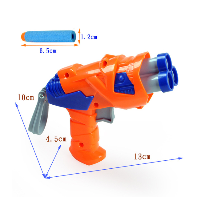 Explosion Models Simulation Model Soft Bullet Gun