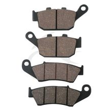 New Front Rear Brake Pads For Honda NX 650 DOMINATOR XL 600 V TRANSALP 2000-