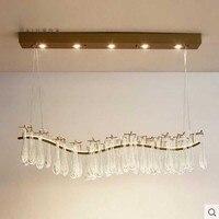 Post Modern Restaurant Chandelier Nordic French Crystal Retro Art Villa Designer Living Room Creative Bar Chandelier