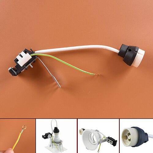 socket base connector ceramic holder lamp wiring for gu10 base rh aliexpress com Wiring Multiple Lights Wiring Multiple Lights