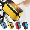 Road Bicycle Bike Bags For Iphone Redmi Touch Screen Cycling Top Front Tube Frame Saddle Bags