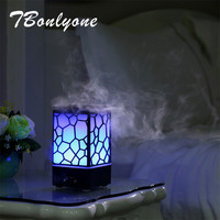 TBonlyone 200ML Water Cube Air Humidifier Ultrasonic Aroma Oil Diffuser Humidifier Electric Essential Oil Diffuser For
