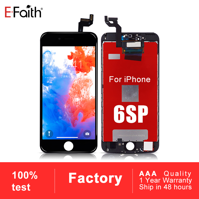 50 PCS Grade AAA LCD Screen For iPhone 6S Plus 6SP Pantalla With 3D Touch Digitizer