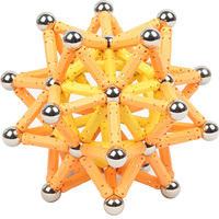 100PC/150PCS/200pc bars 100pc balls Magnet Bars Metal ball Magnetic Designer Building Blocks