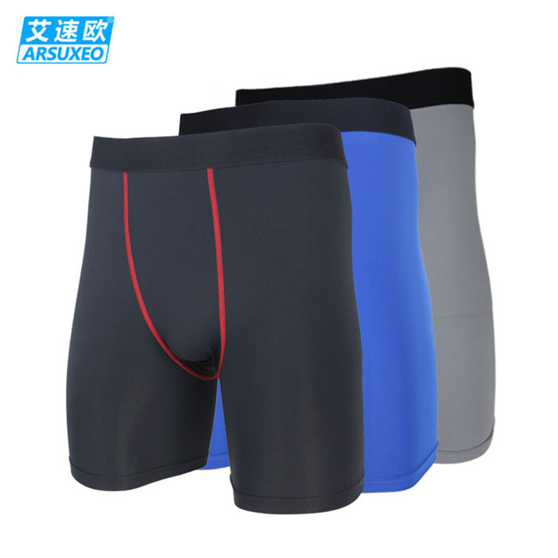 Men/'s Compression Shorts Running Basketball Gym Short Tights Boxers Wicking